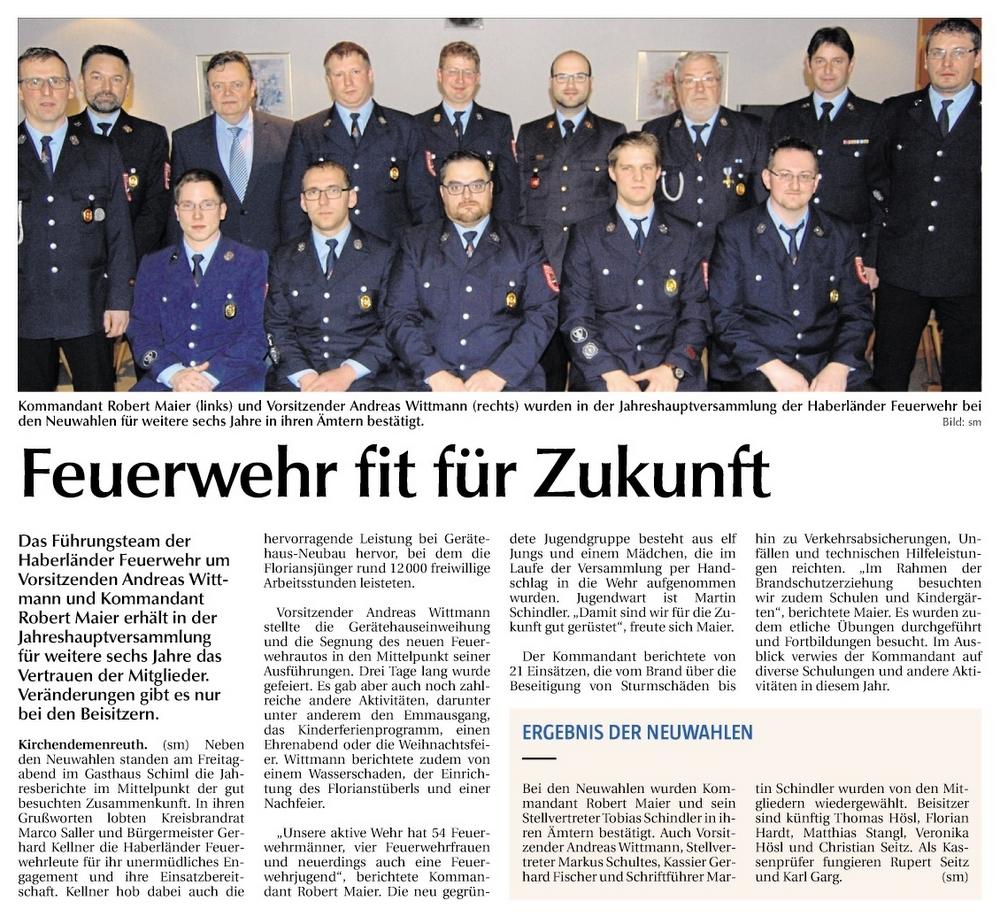 FFW-Vorstand Kdr. 29.1.2019